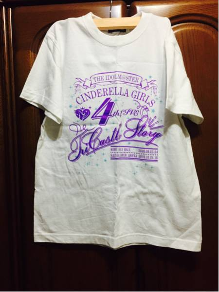 アイドルマスター シンデレラガールズ 4th LIVE Tシャツ グッズの画像