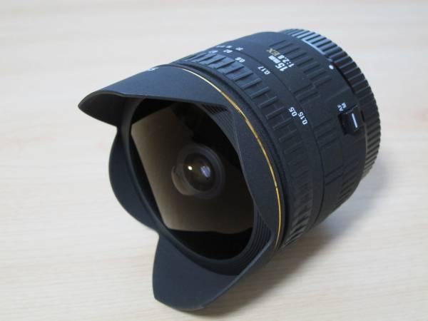 ◆シグマ AF 15mm F2.8 EX DIAGONAL FISHEYE キヤノン用 美品◆