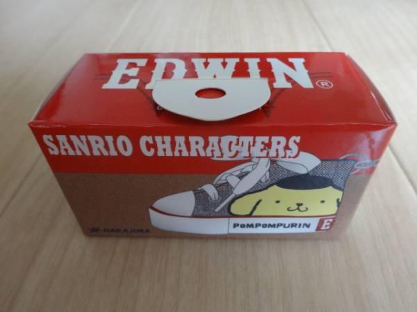 ポムポムプリン×EDWIN スニーカーキーリング (デニム) サンリオ Sanrio キーホルダー エドウィン キーチェーン グッズの画像