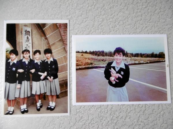 即決!超貴重!岡田有希子さんプレミア修学旅行生写真!