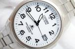 F144●美品 CITIZEN ATTESA TITANIUM 電波ソーラー紳士メンズ男性腕時計 作動良好 チタン DURATECT デイト シチズン エコドライブ税込