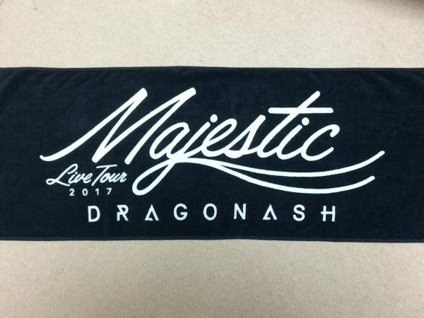 DragonAsh MAJESTIC Tour タオル 2017 ドラゴンアッシュ ライブグッズの画像