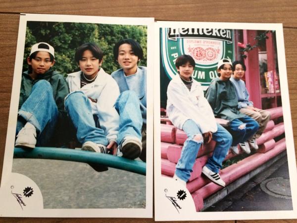 【タッキー&翼】ジャニーズJr.時代の公式写真2枚セット☆滝沢秀明 今井翼