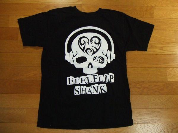 feel flip shank 黒 Tシャツ SIZE:M THE MINTH APOLLO 送料180円~