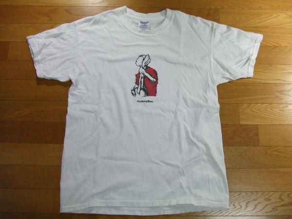 ハスキングビー HUSKING BEE Tシャツ SIZE:L 送料180円~ALL AS I,AS I'M ALL I'M A TREE