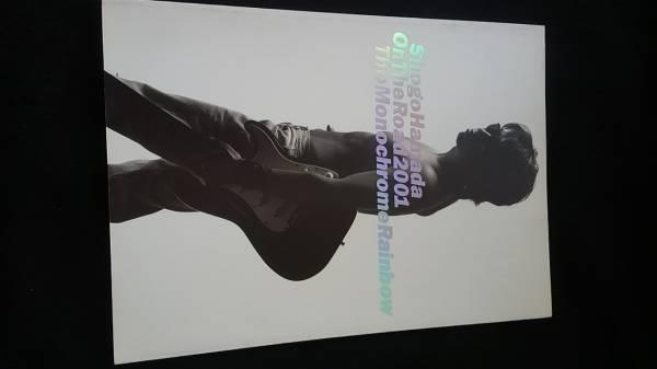 浜田省吾 ON THE ROAD 2001 CONCERT TOUR THE MONOCHROME RAINBOW コンサートツアーパンフレット 即決 ライブ
