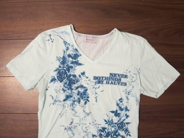 ★ニコル★NICOLE CLUB FOR MEN★ニコルクラブフォーメンTシャツ色が涼しげsize482