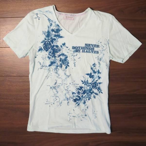 ★ニコル★NICOLE CLUB FOR MEN★ニコルクラブフォーメンTシャツ色が涼しげsize481