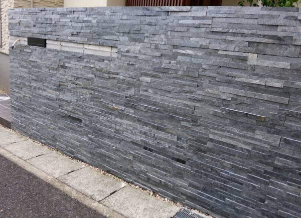 ●1●DIYで簡単に石張りの壁 張るだけで簡単 ●  パネルSS _画像2