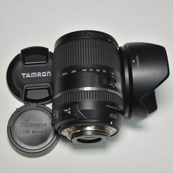 TAMRON タムロン 16-300mm F3.5-6.3 Di II VC PZD MACRO Nikon ニコン用 美品