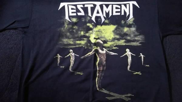 TESTAMENT 1990年 ツアー T シャツ テスタメント Sepultura Exodus Sadus Overkill sodom destruction Kreator Anthrax Death Angel