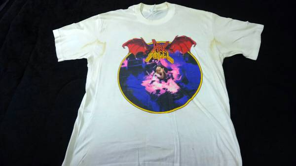 DARK ANGEL 1989年 T シャツ Leave Scars ツアー Kreator sodom D.R.I Demolition Hammer Vio-Lence violence testament Laaz Rockit