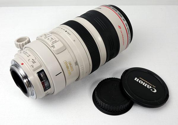 Canon EF100-400mm F4.5-5.6 IS USM 望遠ズームレンズ 美品