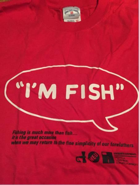 美品!未使用!フィッシュマンズ10周年記念Tシャツ!サイズM カラー赤