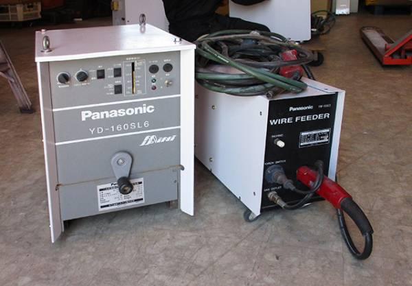 Panasonic(パナソニック) CO2半自動溶接機 ワイヤ送給装置付、 本体:YD-160SL6