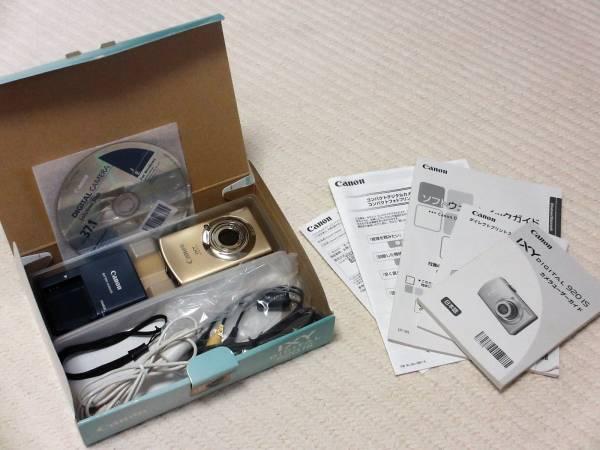 ☆★ ジャンク品! Canon コンデジ IXY DIGITAL 920 IS ゴールド ★☆