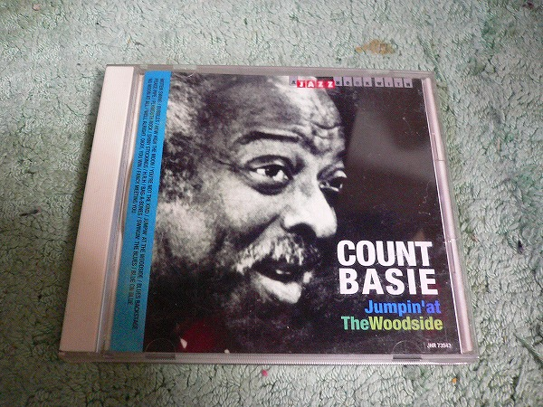 Y110 CD カウント・ベイシー Jumpin' at The Woodside 16曲入り COUNT BASIE  海外版(輸入盤)_画像1