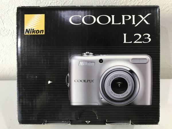 ★【コンパクトデジタルカメラ】Nikon(ニコン)COOLPIX(クールピクス) L23 シルバー 10.1メガピクセル★新品