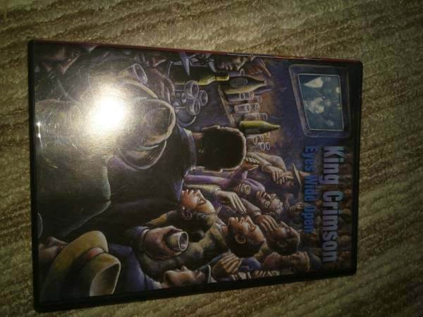 送料無料 即決 DVD キングクリムゾン King Crimson Eyes Wide Open 2枚組 ライブグッズの画像