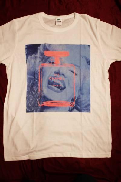 【送料無料・未使用品】シェーンボーデン マリリンモンロー パロディ Tシャツ☆(8) グッズの画像