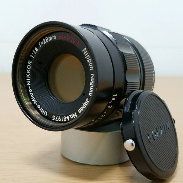 【希少】Ultra-Micro-NIKKOR 1:1.8 f=28mm M=1/10h Nippon Kogaku Japan 現状品