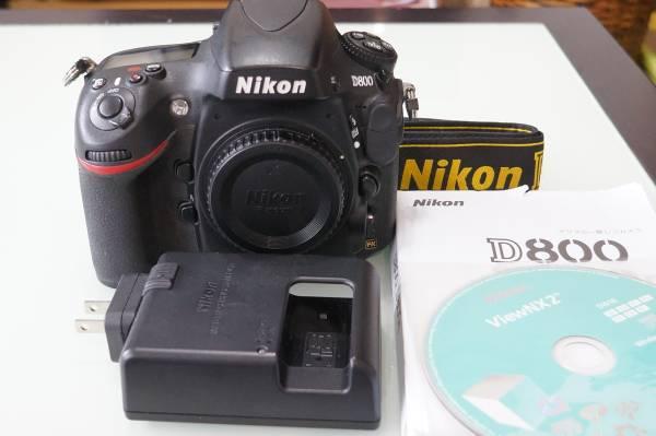 ニコンD800(NIKON)ボディです。