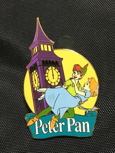 海外ディズニーランドパリ限定 ピーターパン ピンバッジ ディズニーグッズの画像