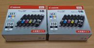 ◎ キャノン 純正インクカートリッジ BCI-351XL+350XL/6MP 2箱 新品未開封品
