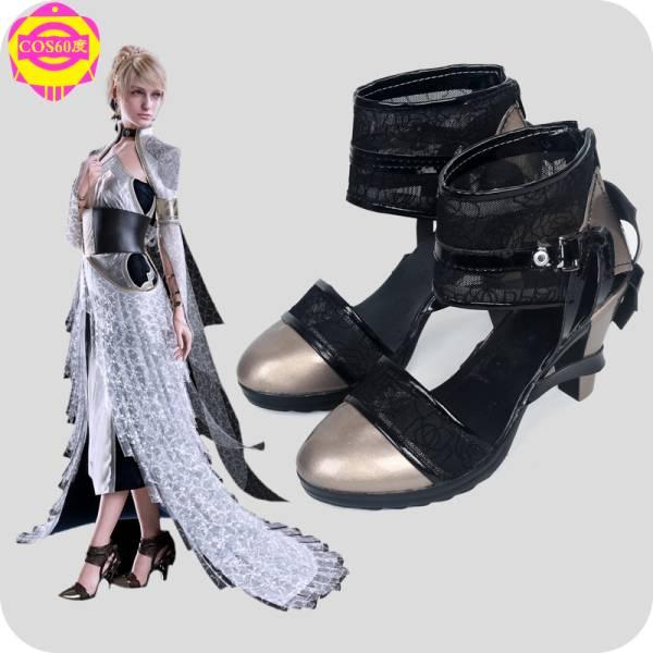 ファイナルファンタジーXVFF15 ルナフレーナ・ノックス・フルーレ 靴 ブーツ グッズの画像