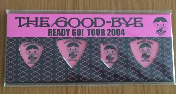 未使用◆THE GOOD-BYE(ザ・グッバイ)★「READY GO! TOUR 2004」ピック★野村義男/曾我泰久★本秀康