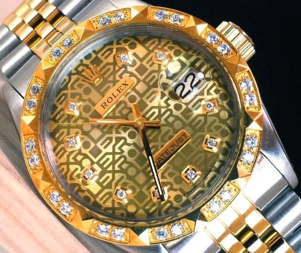 ロレックスデイトジャスト ROLEX DATEJUST ゴールド ジュビリー ダイアル Gold Jubilee 1