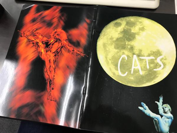 CATS キャッツ ミュージカル パンフレット イギリス UK 英国公演 英語です カラー