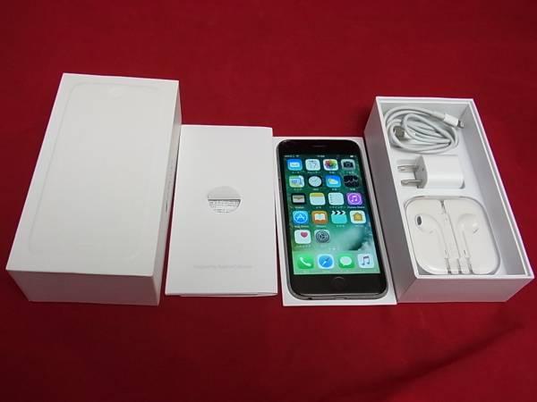 338●100円-●docomo iPhone6 64GB MG4F2J/A スペースグレイ   判定○