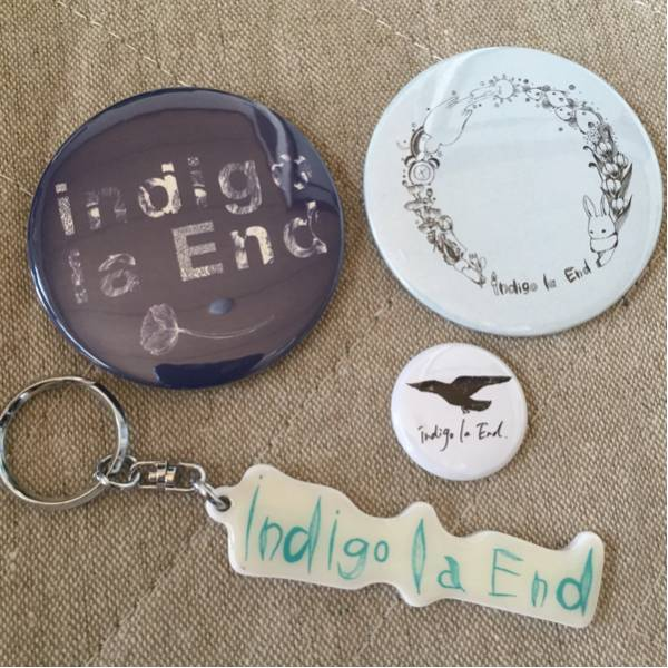 indigo la End 缶バッジ キーホルダー セット