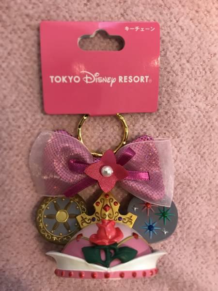 TDR オーロラ姫 キーチェーン イヤーハット プリンセス ディズニーグッズの画像