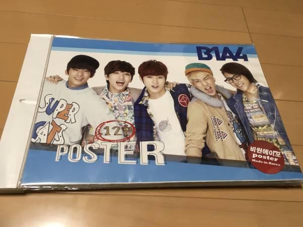 韓国人気グループ B1A4 12枚入りポスター ライブグッズの画像