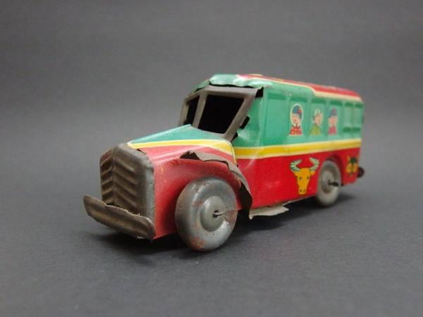 【動物バス】ブリキ おもちゃ 玩具 乗り物 動物バス ビンテージ レトロ