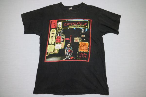 エクストリーム EXTREME ポルノグラフティ 1990 tシャツ クリックポスト 90