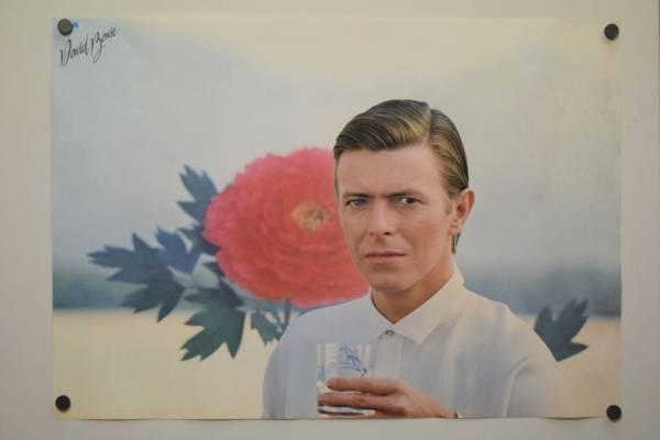 デビットボーウイ ポスター David Bowie B2 RCA ビンテージ  お宝 貴重 /PA208