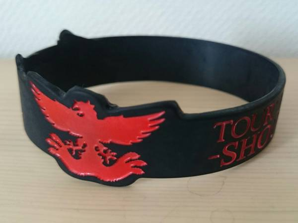 lynch.TOUR'14 TO THE GALLOWS#2 -SHOUT AT THE DEVIL-シリコンリストバンド