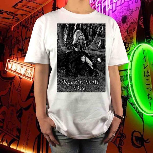 新品 アヴリルラヴィーン フォト バンドTシャツ ロック パンク SUM41 ニッケルバック テイラースウィフト ミシェルブランチ ワンオク 1 ライブグッズの画像