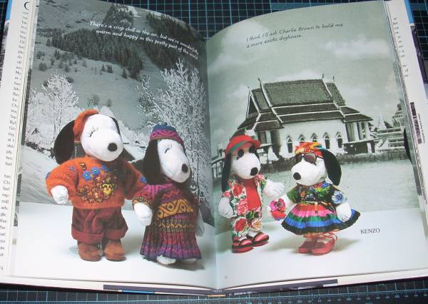 EBA!即決。Snoopy Around the World(英文)スヌーピーアラウンドザワールド Abrams_画像3