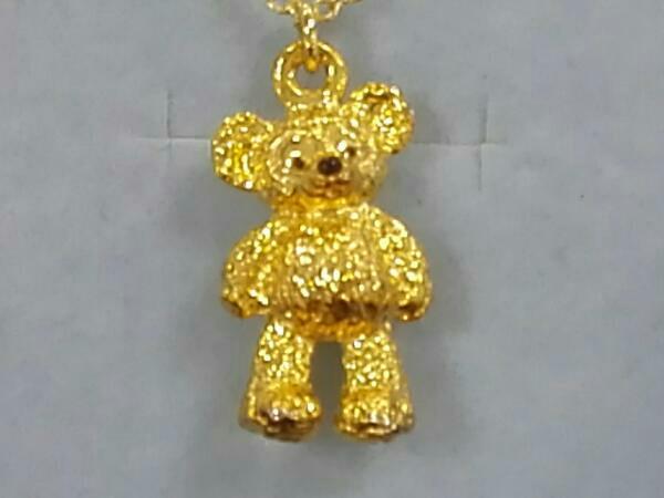 東京ディズニーシー ダッフィー ネックレス 箱付き ゴールドメッキ ディズニーグッズの画像