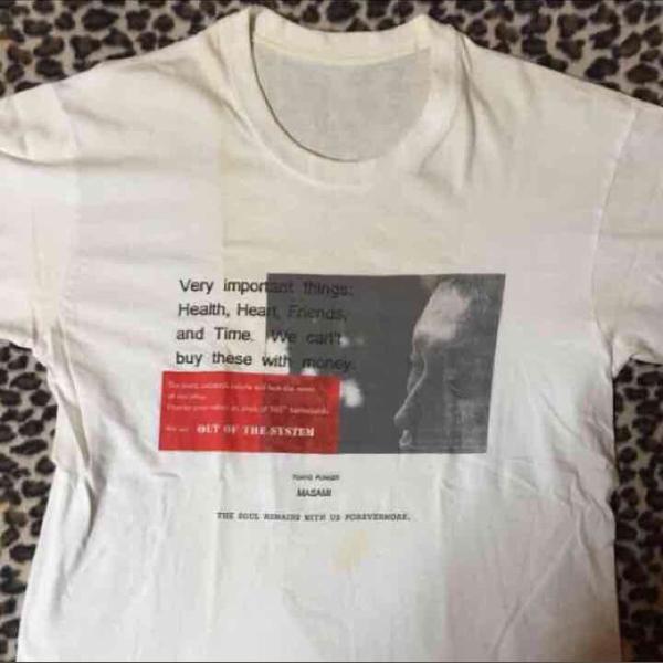 グール/GHOUL masami氏 追悼 Tシャツ サイズM ジャパコア ハードコア パンク hardcore punk GAUZE death side