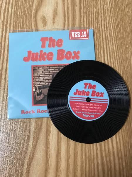 Spitz スピッツ ロックロックこんにちは!ver.19 The Juke Box ライブグッズ コースター 赤い公園 SCANDAL フラワーカンパニーズ