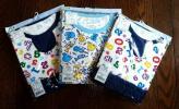 1円~格安!新品未使用☆パジャマ3点&ボクサーパンツのセット 全て130 双子 保育園 洗い替え 未開封
