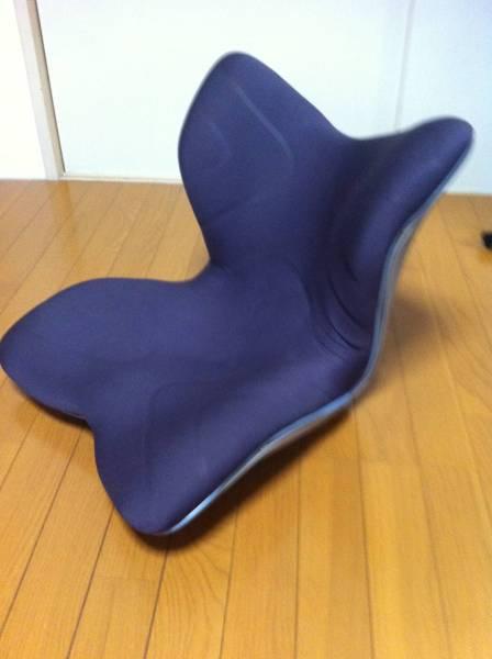 スタイルプレミアム Style Premium 姿勢サポートチェアー 座椅子 ボディメイクシート 腰痛予防 骨盤ケア 座イス 中古_画像2