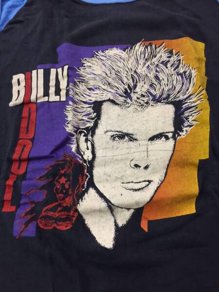 ビリーアイドル BILLY IDOL 80'S ヴィンテージTシャツ