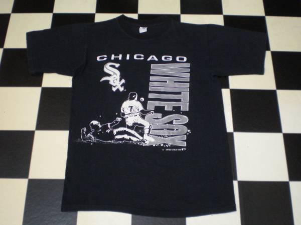 90's MLB CHICAGO WHITE SOX シカゴ ホワイトソックス オールド ヴィンテージ Tシャツ M メジャー 野球 ARTEX OLD VINTAGE 希 USA製 米国製 グッズの画像
