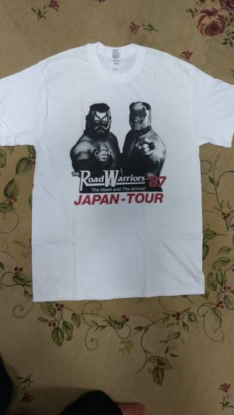 海外限定 日本未発売 新品 ロードウォリアーズ Tシャツ WWF WWE 全日本 プロレス リージョンオブドゥーム 新日本 アルティメットウォリアー グッズの画像